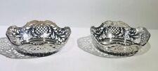 Antique Silver 800 Hessenberg Germany. Matching Pair Dish Bowls.
