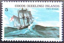 1976 Cocos Keeling Island Stamps - Ships Assoc with Cocos Island - Single 5c MNH
