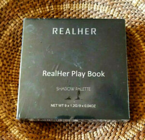 REALHER  Real Her Play Book II Shadow Palette II New Sealed Browns