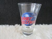 "Planet Hollywood ""Guam"" Fluted 3.25"" Shot Glass"