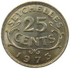 (S9) - Seychellen Seychelles - 1, 5, 10, 25 Cent Cents Rupee 1953-2007 - KM#