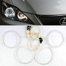 CCFL ANGEL EYES HALO RINGS light BULB KIT for 2006-2013 Lexus is250 is350- white