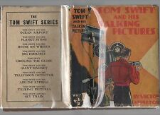 TOM SWIFT & HIS TALKING PICTURES HC w/DJ VINTAGE KIDS ACTION ADVENTURE FICTION