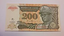 Zaire, 200 New Zaires 1994, P-62, UNC