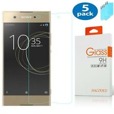 5X Nacodex For Sony Xperia Xa1 Plus 5.5-inch Tempered Glass Screen Protector