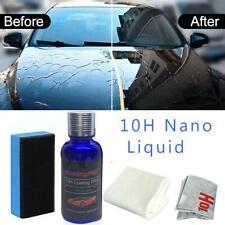 10H Liquid Car Glass Coating Super Hydrophobic Anti Scratch Auto Paint Care 30ml