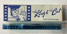 Vintage The King & The Cat Movie Film Reel - Hong Kong - w/ Box