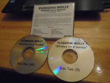 RARE ADVANCE PROMO Flogging Molly DVD + CD Whiskey On a Sunday LIVE celtic punk
