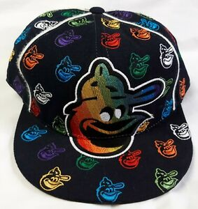 American Needle Baltimore Orioles Retro Baseball Cap Hat Men's Size 7 5/8