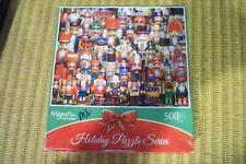 "Springbok, Majestic 500 piece Holiday puzzle series. 2016, 18"" x 23.5"""
