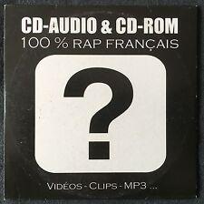 Compilation CD-Audio & CD-Rom 100% Rap Français - Promo - France (VG+/M)