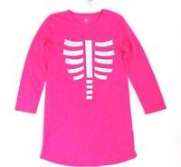$34.95 Gap Kids Girls PJ Pajama Nightgown Pink Graphic Long Sleeves Size 8 10 12