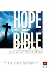 Hope for Today Bible-NLT by Joel Osteen: New