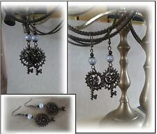 Bronze Costume Earrings without Stone