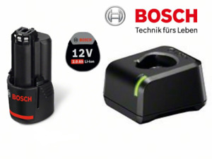 Bosch Akku-Starter-Set GBA 12 Volt  1x 2,0 Ah + Schnellladegerät GAL 12V-20