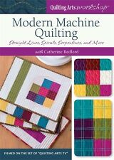 Modern Machine Quilting with Catherine Redford DVD