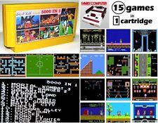 Famicom 15 game Nintendo NES Tetris Mario Mortal Kombat 3 Power Rangers 2 Soccer
