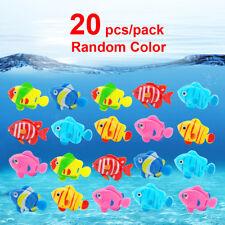 20x Aquarium Fish Tank Artificial Plastic Fake Floating Fish Ornament Decoration