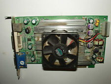 NVIDIA GeForce 6600 GT, 128 MB, AGP 8x, DVI-I, VGA D-sub, S-Video