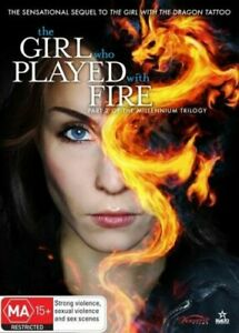 THE GIRL WHO PLAYED WITH FIRE  DVD ORIGINAL SEQUEL REGION 4 NEW AND SEALED