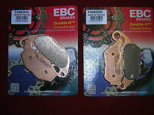Yamaha YZF R3 15-16 EBC HH Sintered Full Set Front,/Rear Brake Pads. New (b .