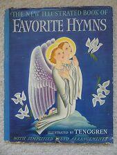 GUSTAF TENGGREN~Favorite Hymns~1941 HCDJ~Simplified Piano Arrangements~ILLUSTRTD