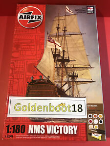 AIRFIX HMS VICTORY NAVY SHIP A50049 SET 1:80 SCALE MODEL KIT CONTENTS SEALED