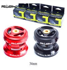 Risk 34mm Bike External Headset for MTB Road Bike 28.6mm Straight Streerer Forks