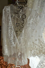 ** HOLIDAY *** STUNNING LACEY BOHEMIAN STYLE TOP SZ FREE ** NWOT