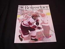 2006-07 Rensselaer P I Women's Hockey Media Guide