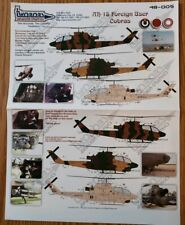 Twobobs Decals 48-005 Ah-1s Foreign User Cobras