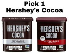 Pick 1 Hershey's Cocoa Powder 100% Natural Unsweetened / Special Dark Cacao 8 oz