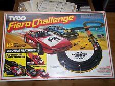 Vintage Fiero challenge Tyco racing track in original box nice plus cars