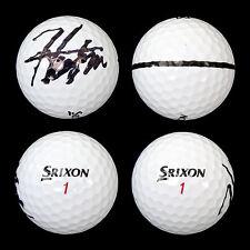 Hideki Matsuyama Signed Personal Used Srixon Golf Ball PGA Autograph COA w/ HOLO