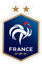 "Equipe France Football 2018 sticker decal 3"" x 5"""