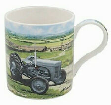Tractor Mugs, Boxed Classic Tractor Country Life Mugs Green, Grey ,Red, Blue.