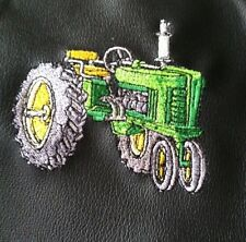 Waterproof Vinyl Backed  Fabric  Apron, Tractor, Black or Green