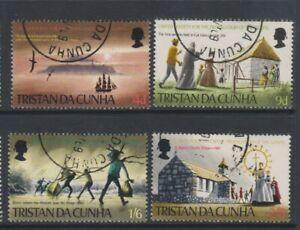 Tristan Da Cunha - 1969, Propagation of Gospel set - F/U - SG 125/8 (h)