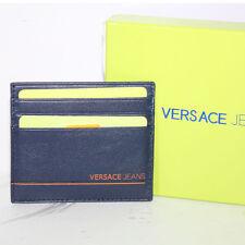 Porta card uomo Versace Jeans E3YLBPB8 blu portacard carte di credito