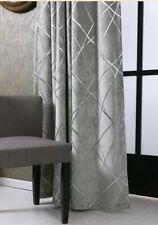 Jacquard Chenille Blackout Curtains Drape Home Decoration Blind Window Treatment
