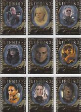 The Chronicles of Riddick Rare 9 Card Casting Call Set Cc1 - Cc9