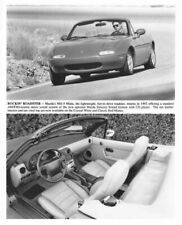 1993 Mazda MX-5 Miata Exterior & Interior Press Photo 0054