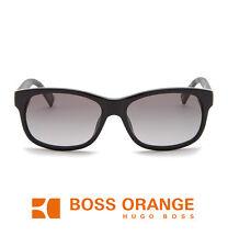 HUGO BOSS Boss Orange Gradient Sunglasses BO 0132/S Black Gray NEW