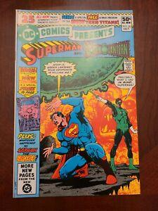 DC Comics Presents Superman and Green Lantern #26 NM+ 1980 1st New Teen Titans