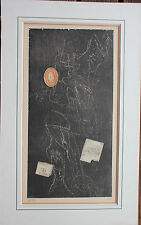 Gravure signée numérotée de Zwy MILSHTEIN etching Roumanie Romania **