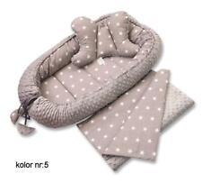 Babynestchen-Babykokon -MINKY-Kokon-Nest-Babynest-XL Made in Poland