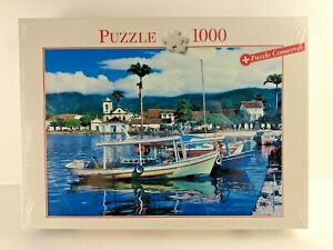 Puzzle Conserver Blatz 1000 Piece Jigsaw Italian Harbour  NEW SEALED           4