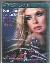 BLU-RAY KATHERINE JENKINS Believe Live From The O2 New Plus Bonus Features