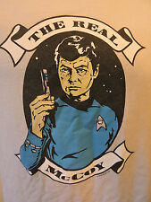 Mens The Real McCoy S Small Shirt Short Sleeve Star Trek Dr. McCoy B2-26
