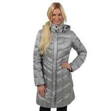 NEW BOGNER Fire+Ice Dalia D Down Jacket - Silver - Women's Size 2-8-10-12 Parka